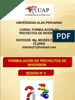 SEMANA  N_ 2 PROYECTOS DE INVERSIÓN PÚBLICOS.ppt