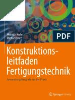 Preview of Konstruktionsleitfaden Fertigungstechnik Anwendungsbeispiele Aus Der Praxis German Edition