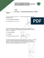 VECTORES (2) Física Clásica Grupo 1MM3