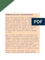 Buka Ometa Komunikaciju