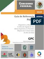 Diagnostico y Tratamiento de infeccion aguda de vias aereas superiores en pacientes de 3 meses hasta 18 años..pdf