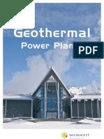 Geothermal Power Plants Brochure