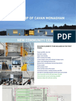 Design concepts for the proposed new Cavan Monaghan Community Centre