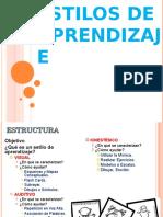 Estilos de Aprendizaje Edit