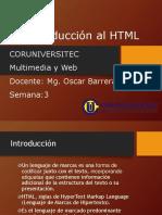 Clase 3 Introduccion a HTML