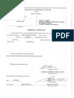 Imran Awan Complaint and Affidavit