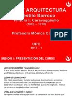 Sesión 1 Barroco en Italia