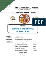Informe de Fusiones y Adquisiciones...