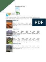 Ocho Regiones Naturales Del Perú