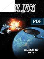 Star Trek Attack Wing  Rulebook