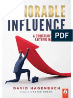 Honorable Influence_ a Christia - David Hagenbuch