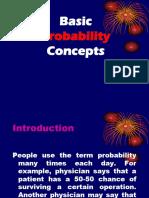 Chap 1 Basic Probability Concept