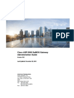 Cisco ASR 5000 SaMOG Gateway Administration Guide