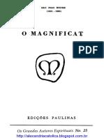 Magnificat - São João Eudes, 1956 - 45 Pags