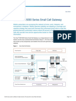 Cisco ASR 5000 Series Small Cell Gateway