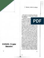 DURKHEIM - Naturaleza y Método de La Pedagogía