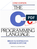 The C Programming Language Dennis Ritchie Pdf