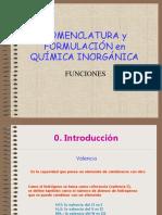 Nomenclatura y Formulación Química