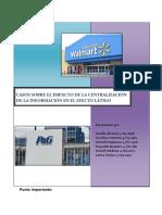 Casos Logistica (P&G y Walmart)