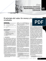 El principio de value for money y la gestion por resultados.pdf