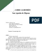 Hipona San Agustin De - Libre Albedrio - Bac Libro III.rtf
