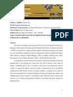 Luluciana_aondocumentaleshijos de Desaparecidos