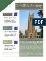JDMBA August 2010 Newsletter