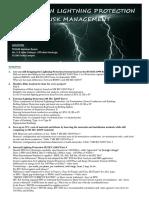 Flyer Seminar on Lightning Protection Risk Management1