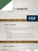 type 1 diabetes final