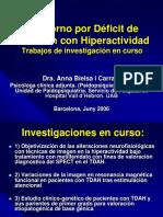 Trastorno Por Defici de Atencion Con Hiperactividad