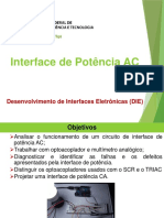 DIE - 08 Interface de Potência AC