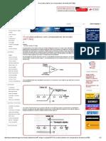 10 Circuitos Práticos Com Comparadores de Tensão (ART1092)