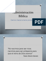 Administración Bíblica