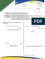 algebra 1° de secundaria