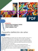 Artistas Plásticos Nacionales de La Época Contemporánea