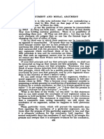 Richard Robinson Moral Argument 1961