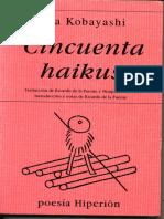 Cincuenta Haikus, Issa Kobayashi