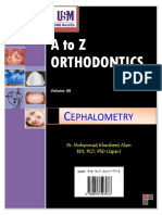 A to Z Orthodontics Vol 8 Cephalometry