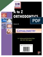 A to Z Orthodontics Vol 8 Cephalometry
