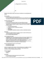 Clase 1 Homeostasis, Regulación y Control