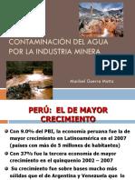 Contaminación Del Agua Por Mineria