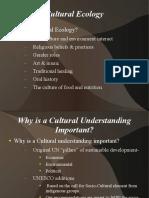 Cultural Ecology Presentation