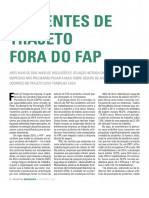 Acidentes de Trajetos Fora Do FAP - RIB-CNI