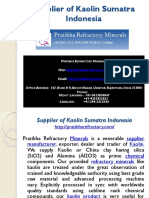 Supplier of Kaolin Sumatra Indonesia.pptx