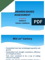 Slide Makalah Chapter 5 Standardized Based Assessment