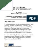 JOYFUL GIVERS