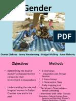 Gender PP Presentation