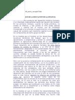 . LOS MODELOS PEDAGÓGICOS DE LA EDUCACIÓN DE LA PRIMERA INFANCIA