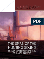 The Spire of the Hunting Sound-Characters and Mini Bestiary-2017!06!02