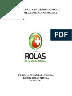 Pola Ketenagaan Klinik Rolas